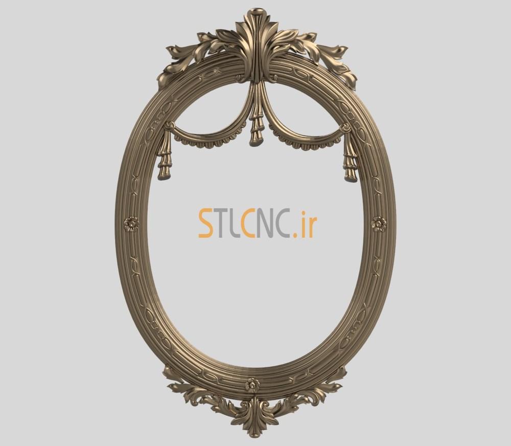 اسکن stl قاب آینه